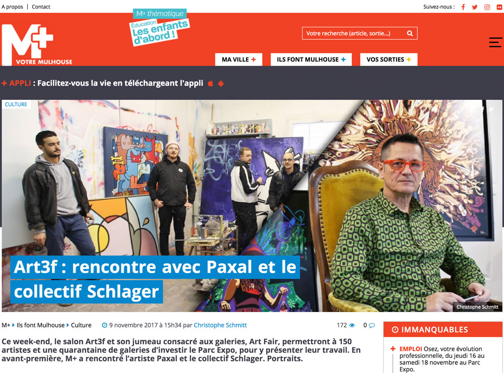 mplus collectif Schlager et Paxal