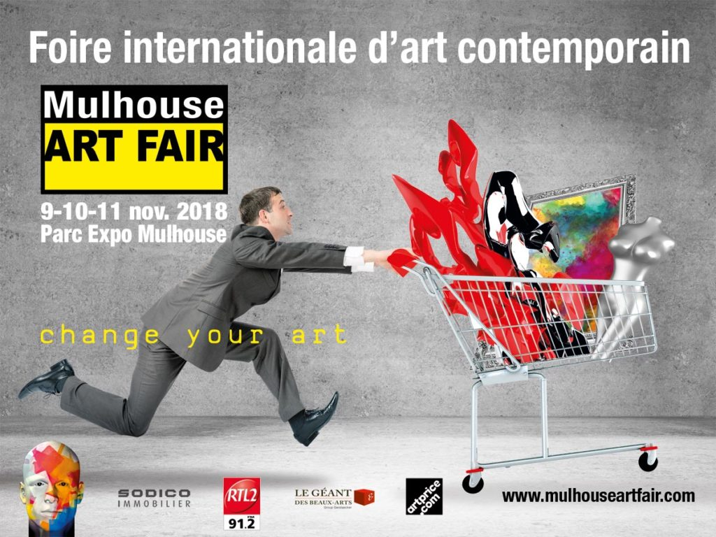 Mulhouse ART FAIR 9-110-11 Novembre 2018